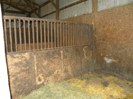 (3) BOX STALL PANELS - TO BE REMOVED BY BUYER