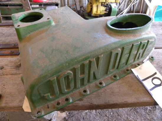 "JOHN DEERE TOP RADIATOR TANK FOR JOHN DEERE ""A"""