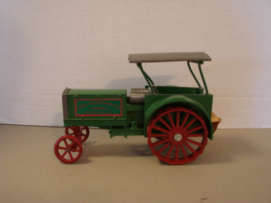 1/16 HEIDER LIMITED EDITION ROCK ISLAND PLOW CO TRACTOR ON STEEL