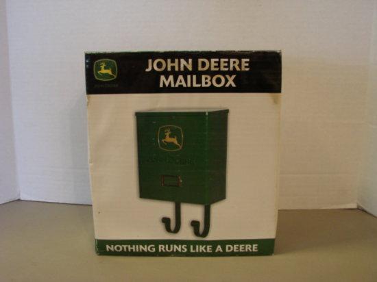 JOHN DEERE METAL MAIL BOX - NIB