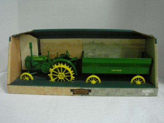 1/16 1931 GP TRACTOR W/ FLAIR BOX WAGON