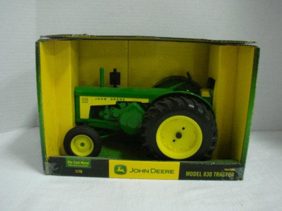 1/16 ERTL JOHN DEERE MODEL 830 TRACTOR