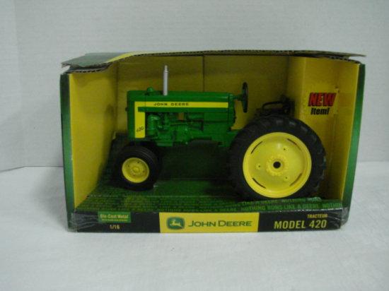 1/16 ERTL JOHN DEERE MODEL 420 TRACTOR