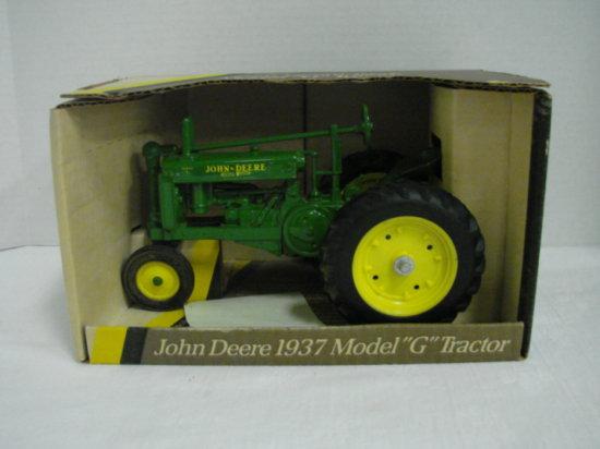 """1/16 ERTL  JOHN DEERE 1937 MODEL """"G"""" TRACTOR"""