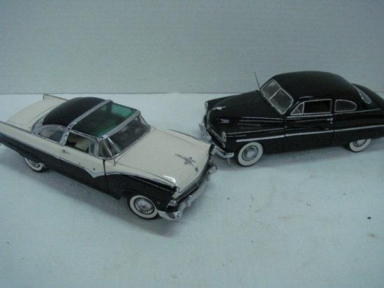 (2) DANBURY MINT DIE CAST CARS