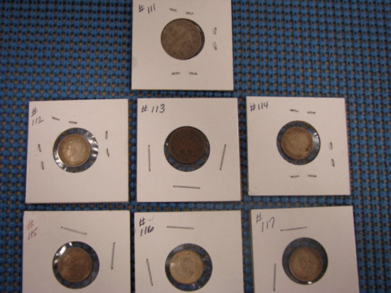 (7) FOREIGN COINS