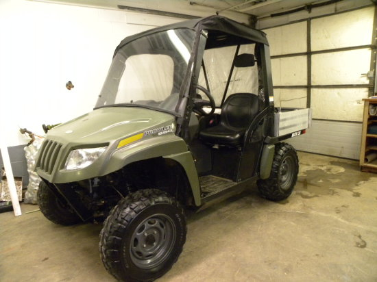 2010 Arctic Cat Prowler 550 4X4 utility vehicle -ROPS, canvas cab, ONE OWNER