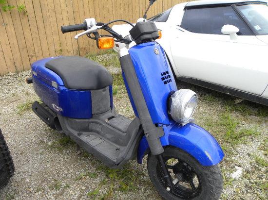Yamaha C3 motor scooter - ran last summer