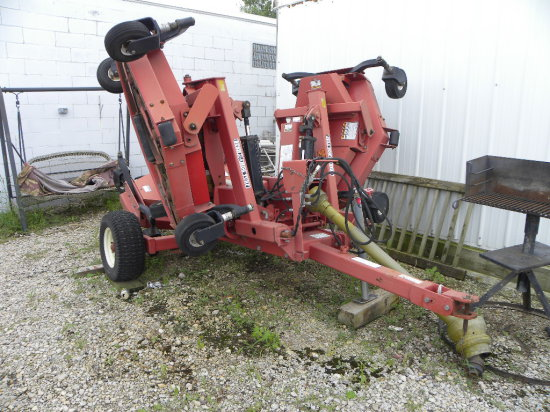 Bush Hog TDM-11 13ft mulching turf batwing mower
