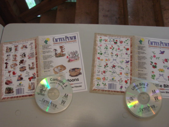 (2) CACTUS PUNCH EMBROIDERY SOFTWARE