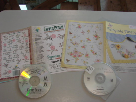 CACTUS PUNCH SWEET BRIAR & FAIRYTALE FINERY EMBROIDERY SOFTWARE