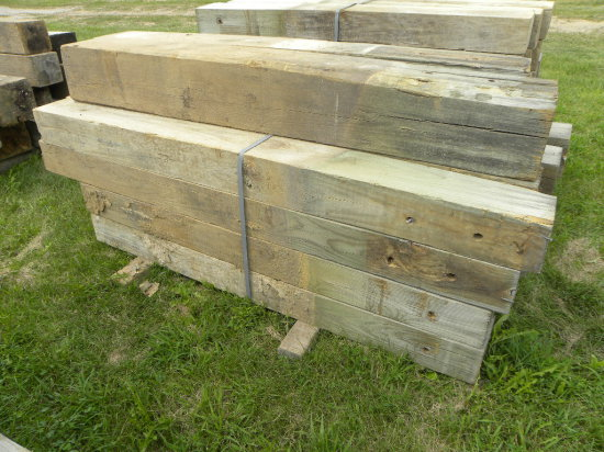 (18) GUARD RAIL POSTS - VARIOUS LENGTHS - 6 1/2FT - 7FT