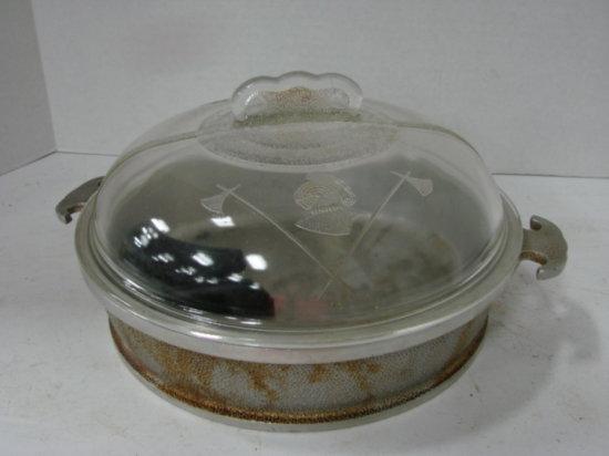 GUARDIAN SERVICE WARE  CHICKEN FRY PAN W/ GLASS LID