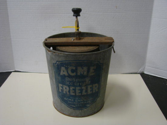 ACME 5 MIN. ICE CREAM FREEZER
