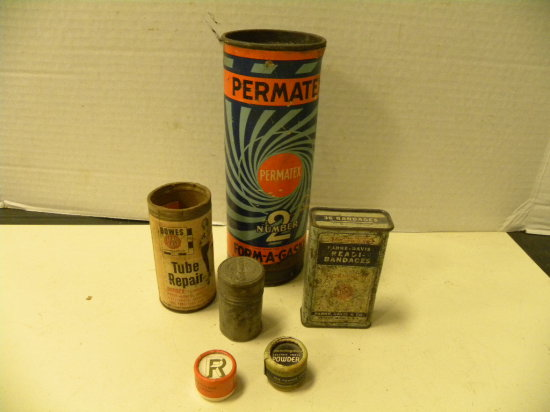 MISC. VINTAGE CONTAINERS