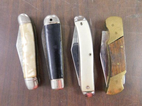 (4) MISC. POCKET KNIVES