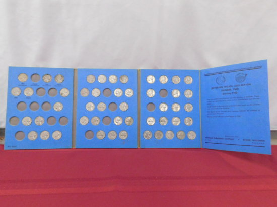 1962-1993 JEFFERSON NICKEL WHITMAN COLLECTION