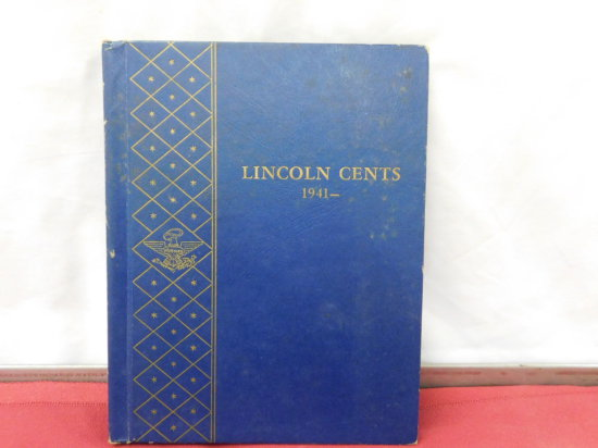 1941+ LINCOLN CENT COLLECTION WHITMAN ALBUM