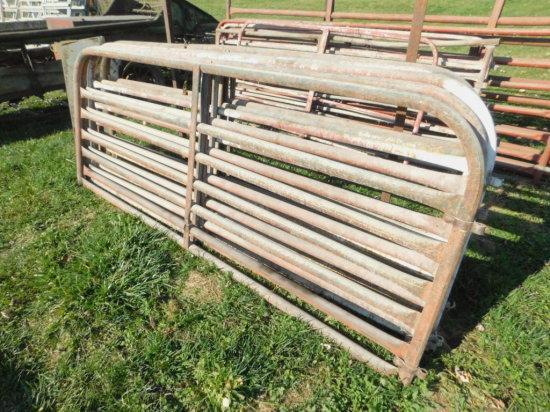 (5) 8FT PIPE HOG GATES