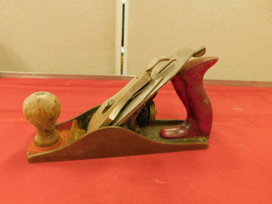 VINTAGE STANLEY WOOD PLANE - BAILEY No. 4