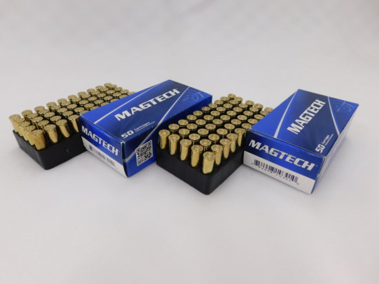 (2) 50 RD BOXES MAGTECH .32 S&W L CAL AMMO