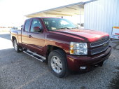 KNIFE, CHEVY PICKUP & JD GARDEN TRACTOR AUCTION