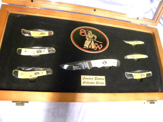 STEEL WARRIOR #440 STAINLESS LIMITED EDITION COLLECTOR SERIES POCKET KNIFE SET