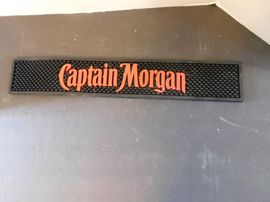 CAPTAIN MORGAN RUBBER BAR MAT