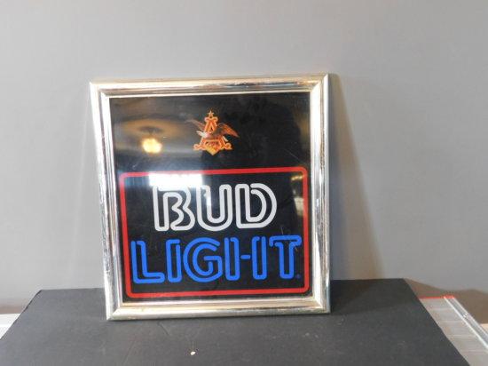 BUD LIGHT RESIN SIGN