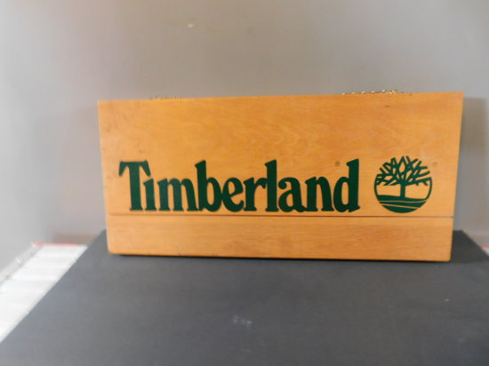 OAK TIMBERLAND BOOT CO SIGN