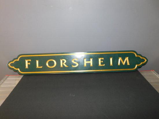 WOOD FLORSHEIM SHOE CO SIGN