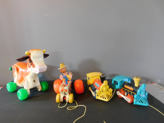 GROUP OF FISHER PRICE TOYS