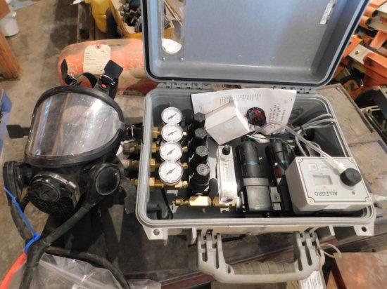 Allegro fresh air system w/ case & respirator