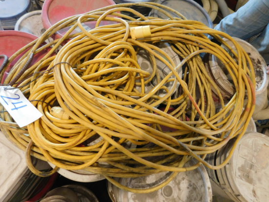 (3) HD yellow drop cords