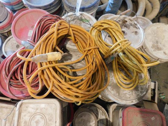 (4) HD yellow & orange drop cords