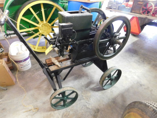 CHALLENGE CO 3HP GAS ENGINE W/ CART
