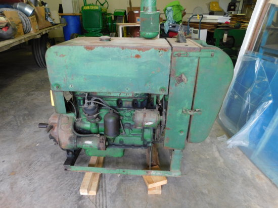 JOHN DEERE MODEL HA92 GAS POWER UNIT