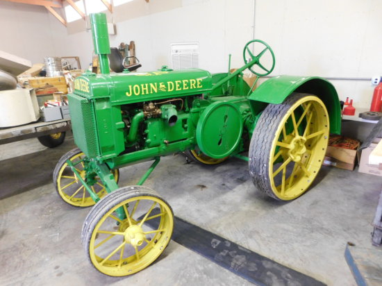 1931 JOHN DEERE GP ON STEEL - RUNS, RESTORED & SHARP