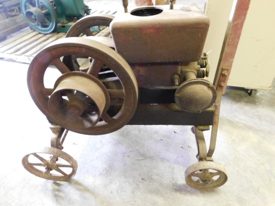 OTTAWA BS 5000 2 1/4 HP GAS ENGINE W/ CART