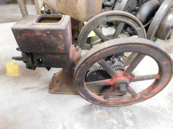 UNKNOWN 1 1/2 HP GAS ENGINE - S/N 218208
