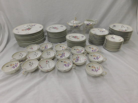 74 PC CHARLES AHRENFELDT LIMOGES FRANCE CHINA