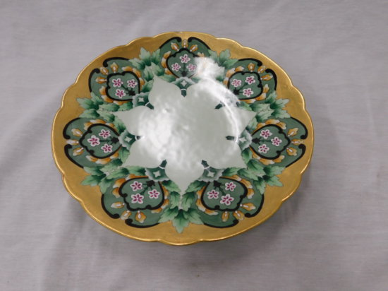 "12"" HAND PAINTED SERVING PLATE"