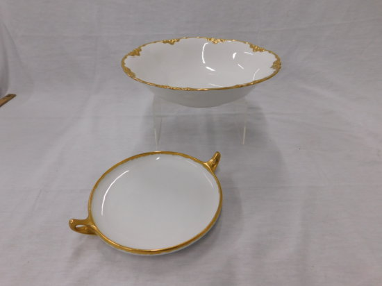"ROYAL BAVARIAN HUTSCHENREUTHER 10"" SERVING BOWL"