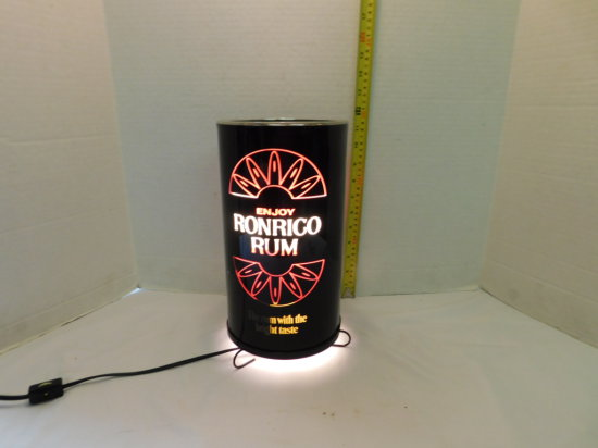 RONRICO RUM CYLINDER TYPE MOTION BAR LIGHT