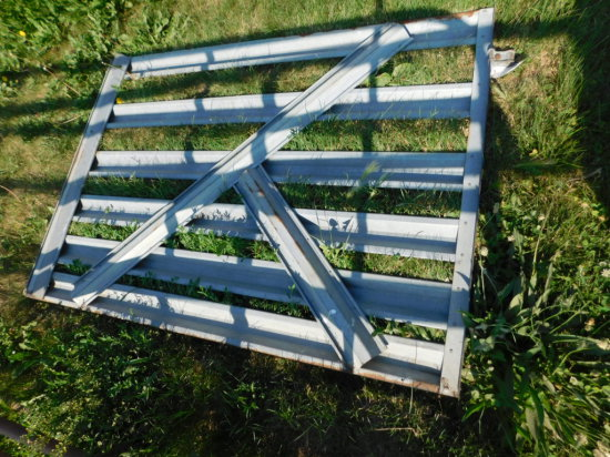 6FT GALVANIZED CATTLE GATE