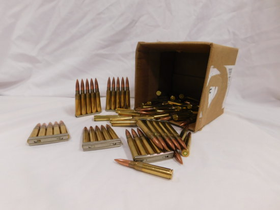 84 RDS MITCHELL MAUSER 8MM AMMO