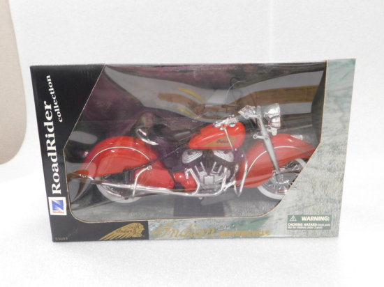 1:6 SCALE NEW RAY INDIAN MOTORCYCLE NIP