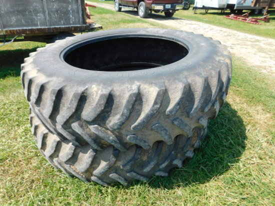 (2) GOODYEAR 18.4R46 TRACTOR TIRES