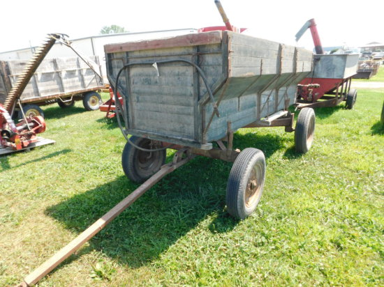 FLARLLINE FLARE BOX WAGON W/ IH END GATE SEEDER