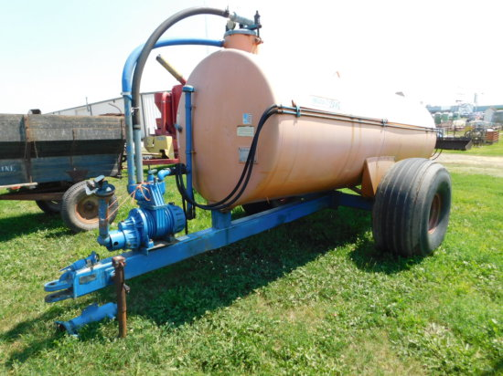 LMT MODEL 1500 LIQUID MANURE SPREADER